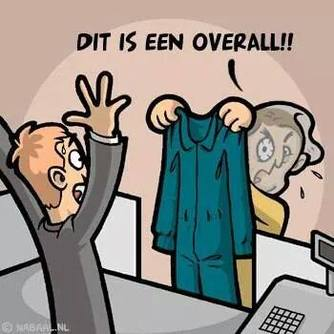 Normal dit is een overall